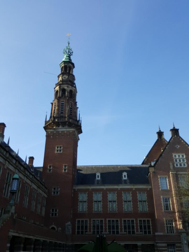 Prachtige stadhuis van Leiden