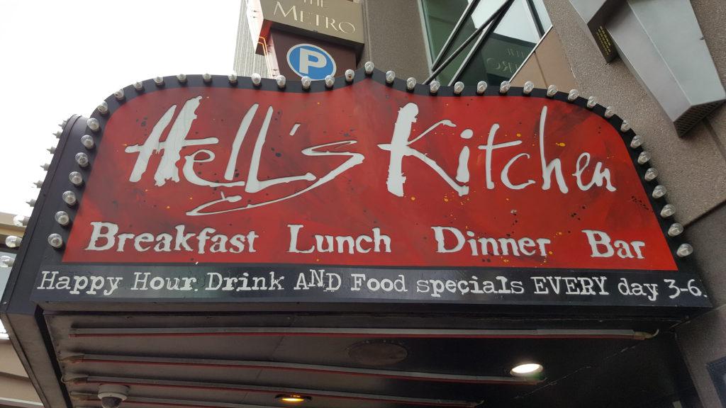 Ik was al verbaasd over de locatie, maar dit restaurant bleek ook niets te maken te hebben met Gordon Ramsay