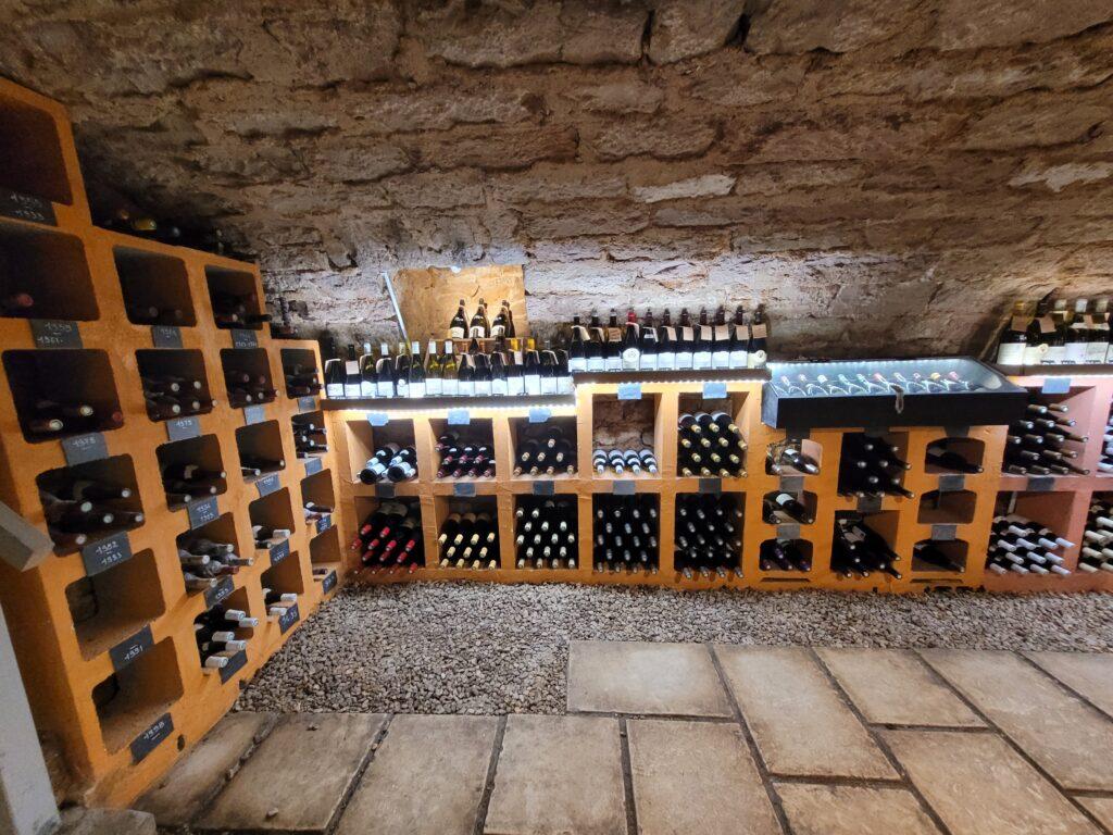 Wijnclub in de Bourgogne